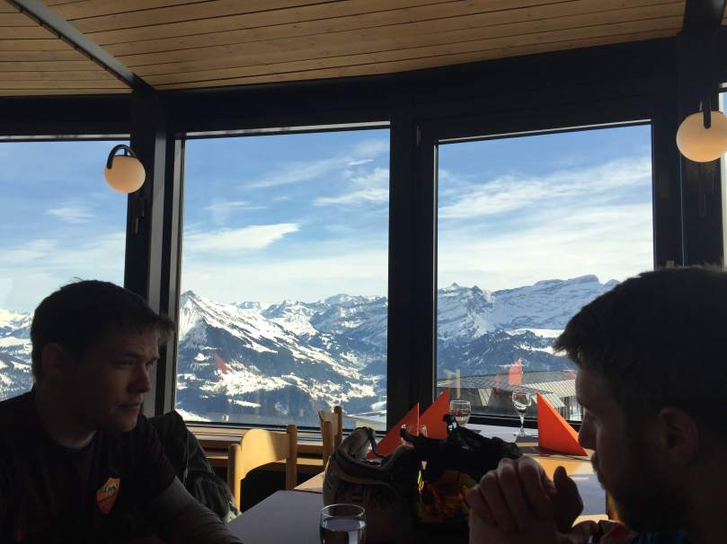 Lunch at Leysin