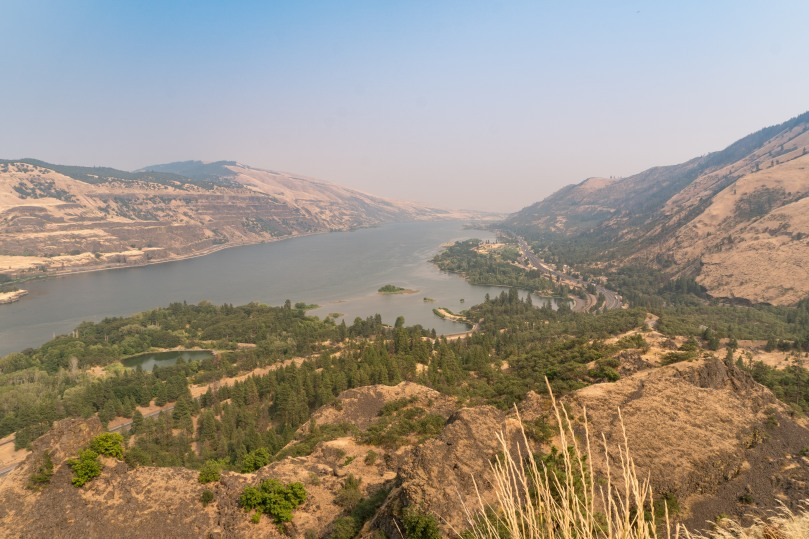 Columbia River Gorge from Rowen viewpoint